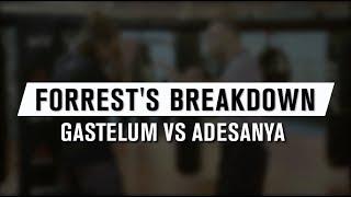 UFC 236: Forrest Breakdown - Gastelum vs Adesanya