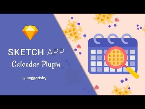 Sketch App Plugin Create Calendar Quickly