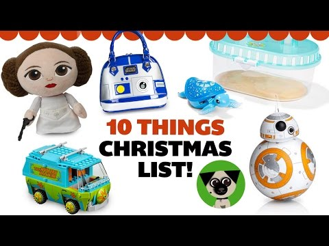 10 things I want for Christmas! Awesome holiday gift ideas for nerds and kids at heart!