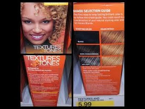 What happens when using Textures & Tones Honey Blonde dye on pre-colored hair