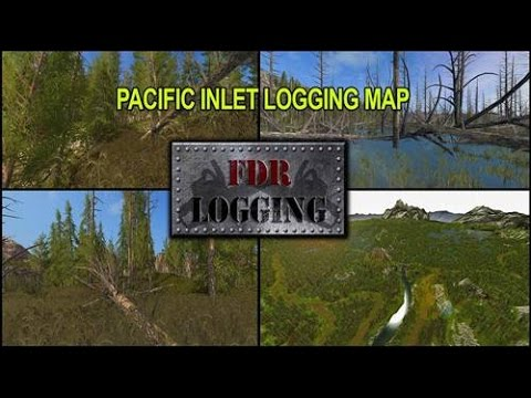 farm sim 2017  PC  logging pacific inlet FDR 2