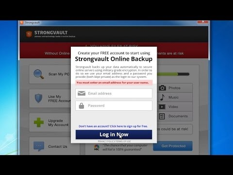 How to remove strongvault online backup popup (Manual removal guide)