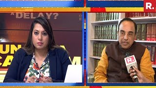 Subramanian Swamy Reacts On #SunandaForensicMail | Exclusive