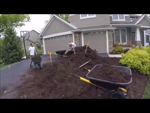 30 yards of mulch in Victoria Minnesota May 2016