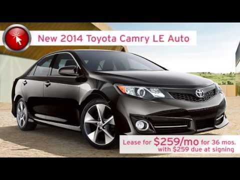 2014 Toyota Camry Lease Springfield OH Columbus Price Ohio Dayton Urbana