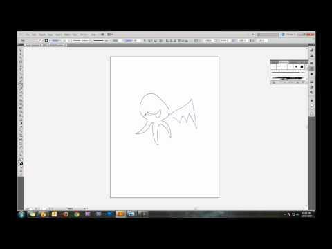 How to Make a Custom Brush in Adobe Illustrator CS5 Tutorial