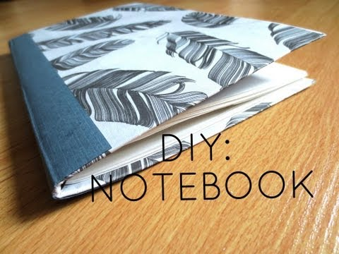 DIY: Custom Notebook from Old Cereal Box ✎