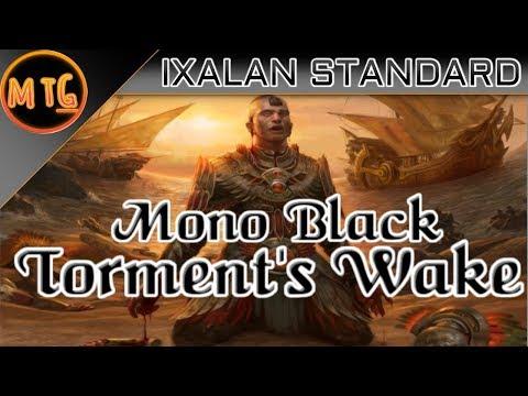 Mono Black Torment's Wake in Ixalan Standard! Budget Deck Tech ($30)!