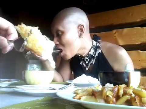 MUKBANG: Ukrainian Soul Food: Борщ, Potatoes, Cmetana, Млинці, and Homemade Cheese