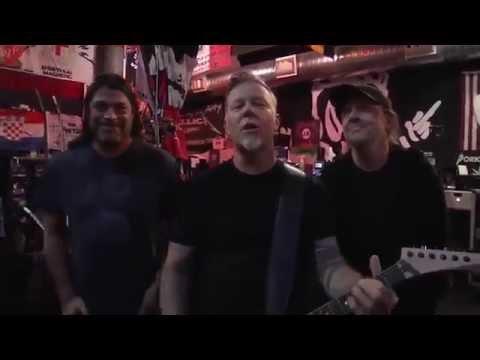 Metallica Records Special Message For Virginia Tech Coach Frank Beamer