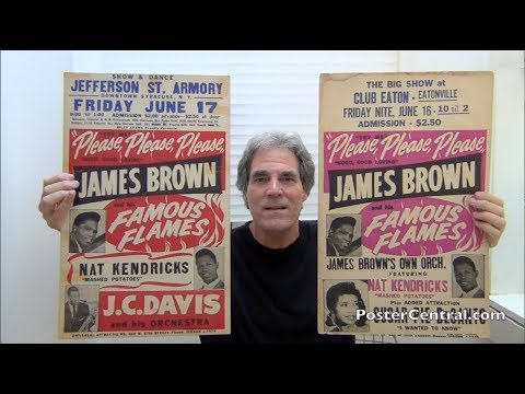 James Brown Dynamic 1960-61 Window Cards – The Start of an Era