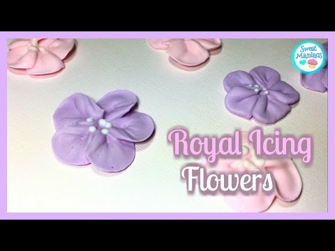 Royal Icing Flowers | Sweet Maniacs 💜