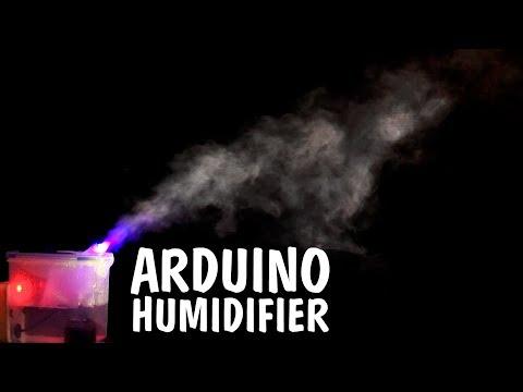 DIY Automatic Air Humidifier [Arduino & XOD]