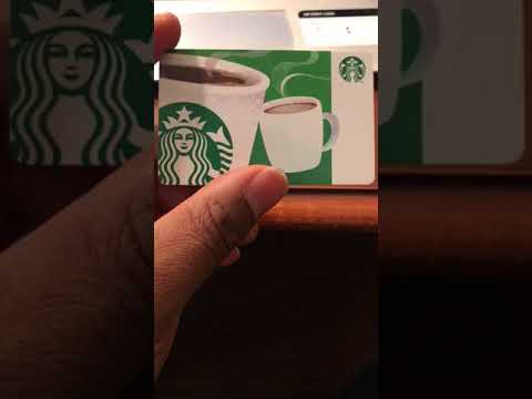 So somebody gave me a Starbucks gift card....here's what I decided to do with it