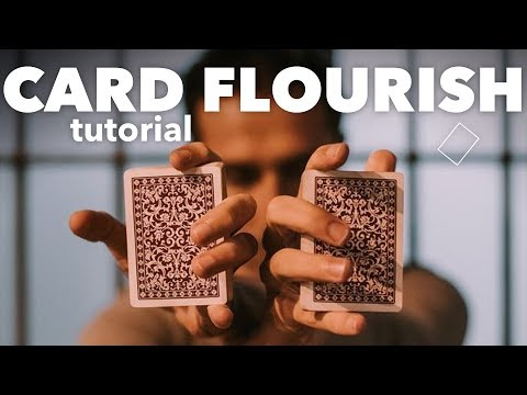 Card Flourish Tutorial SONÁMBULO Cardistry Tutorial by Miquel Roman