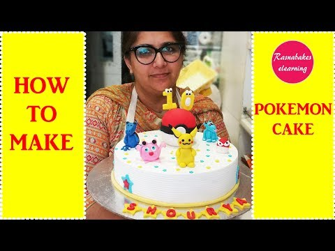 How To Make Pokemon go pikachu poke ball Cake: Cake Decorating Tutorial