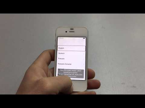 How to find IMEI number on iPhone 4/4s/5/5c/5s/6/6plus on the StartUp screen.