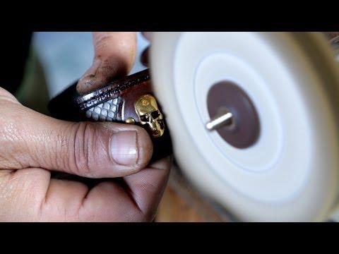 How to make a handmade leather bracelet by 3choamano
