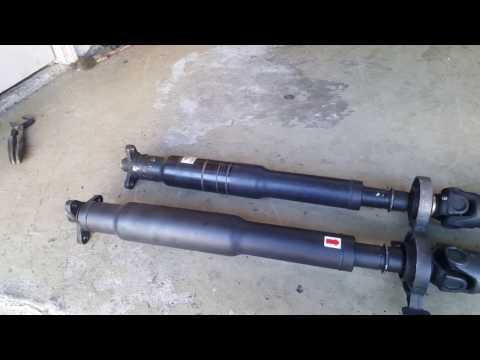 BMW M3 Bad Driveshaft U Joint
