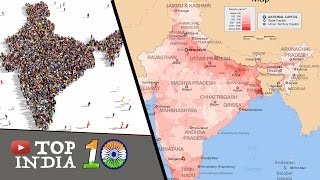Top 10 Indian States By Population || Top10INDIA