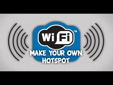 How To Make a Wifi Hotspot in Android Mobile