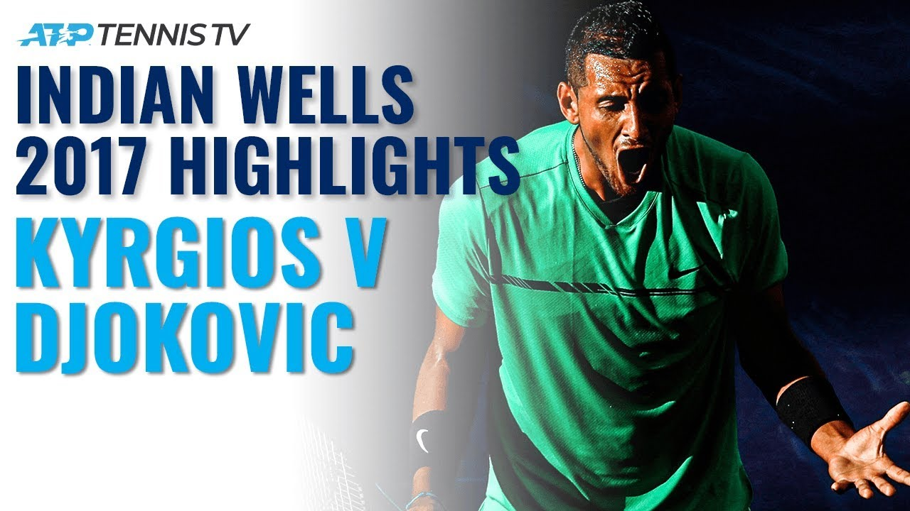 Extended Highlights: When Kyrgios Shocked Djokovic!   Indian Wells 2017