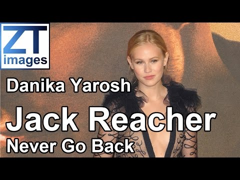 Danika Yarosh at the film premiere Jack Reacher: Never Go Back in London, UK.