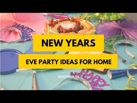 50+ Awesome New Years Eve Party Ideas for Your House