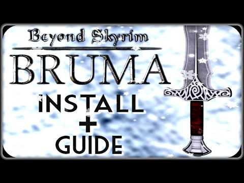Beyond Skyrim: Bruma ▶️Install + Set up Guide▶️ - For The Console