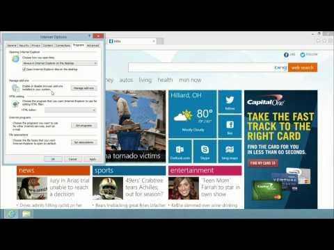 Windows 8: How to have Internet Explorer always open links in desktop mode