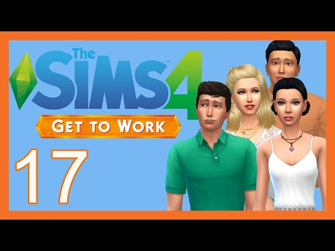 Let's Play: The Sims 4 Get To Work [Part 17] CSI & Employees