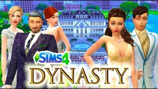 The Sims 4: Dynasty | MEET THE DYNASTY | Part 1