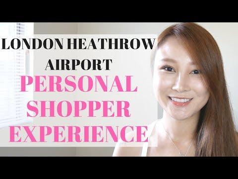 London Heathrow Personal Shopper Experience | Cherry Tung