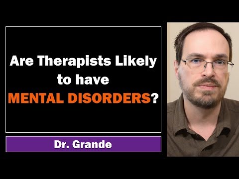 Are Counselors / Therapists More Likely to have Mental Disorders?