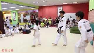 2015.7.6 龙拳小子日记 林秋楠 vs 韩国虎队 Dragon Boys Lin QiuNan vs K-TIGERS Chang-soon Jang