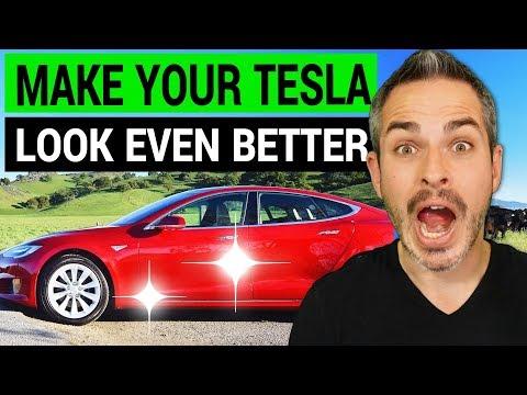 Make Your Tesla Look Even Better: Detailing Options
