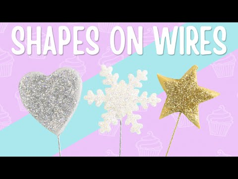 How To Make Sugar Shapes On Wires