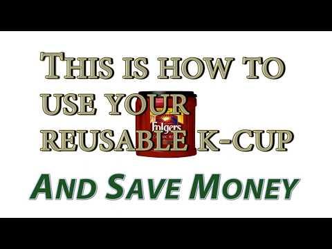 Keurig Reusable K-Cups - Huge Savings - Easy to Use! 💰