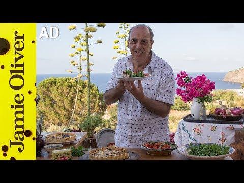 Italian Vegetable Tart  | Gennaro Contaldo - AD