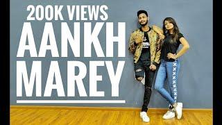 SIMMBA: Aankh Marey | Ranveer Singh, Sara Ali Khan | Choreography Ajinkyasingh  FT Anushka.B