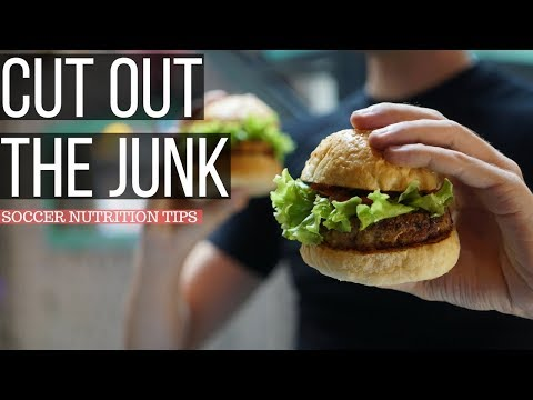 Soccer Nutrition Tips - How To Stop Eating Junk Food Forever!