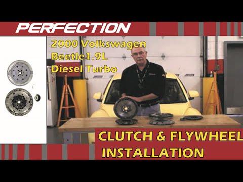 2000 Volkswagen Beetle 1.9L Turbo Diesel Clutch and Flywheel Installation