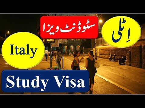 Study in Italy on Scholarship & How To Apply Italy Student Visa