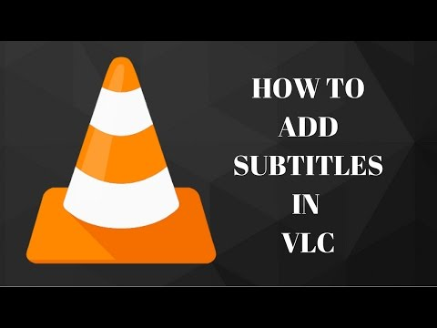 HOW TO INSERT SUBTITLES IN VLC (2017)