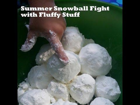 DIY Summer snowballs