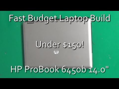 How to build a Fast Laptop on a $150 Budget with an SSD and Core i5