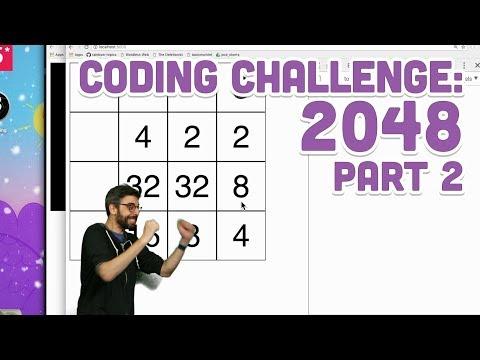 Coding Challenge #94.2: 2048 - Part 2