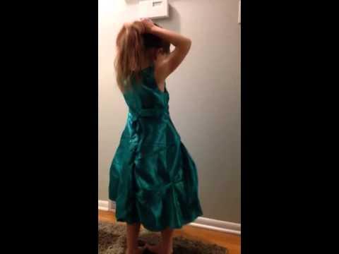 Nat's Elsa dress