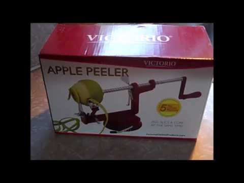 Johnny Apple Peeler by VICTORIO VKP1010, Suction Base Product Review
