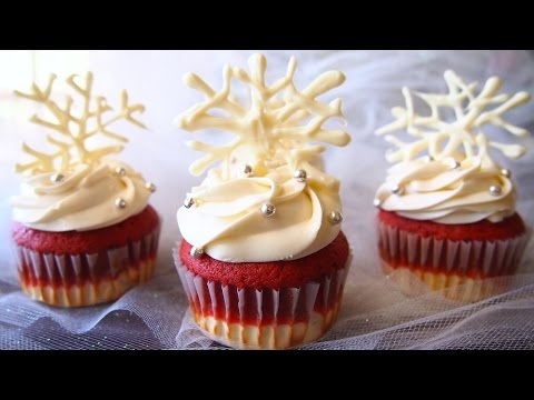 How to Make Cheesecake Red Velvet Cupcakes